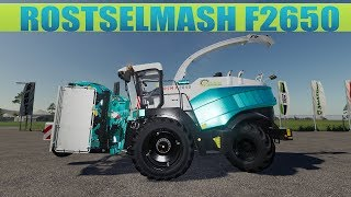 "[""ROSTSELMASH F2650"", ""FARMING SIMULATOR 2019""]"