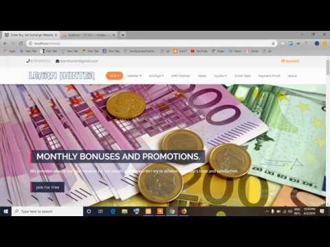 Dollar Buy Sell Exchange Web Aplication By Php Laravel   #Money #Exchange