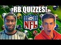 NFL RUNNING BACK QUIZZES FT. BENGAL!