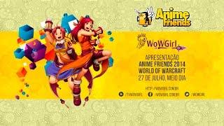 Apresentação do WoWGirl no Anime Friends 2014