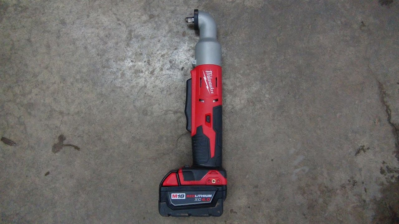 M18 U2122 Cordless 2 Speed 3  8th Drive Right Angle Impact