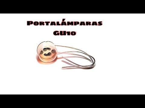 Video de Portalamparas GU10  Beige