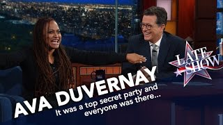 Ava Duvernay Dishes About Obama's Secret Birthday Party