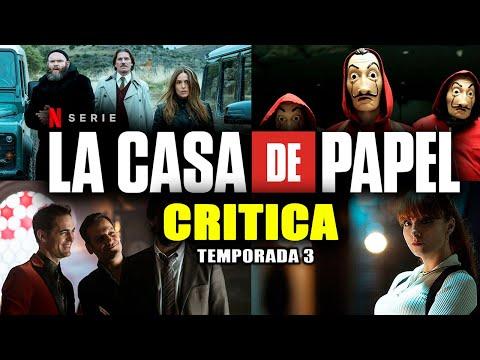CRÍTICA: LA CASA DE PAPEL (TEMPORADA 3) | NO ME ESPERABA ESTE REGRESO 😱 | #NETFLIX