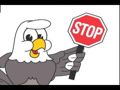 Eagle Mascot, Funny Cartoon Clip Art - YouTube