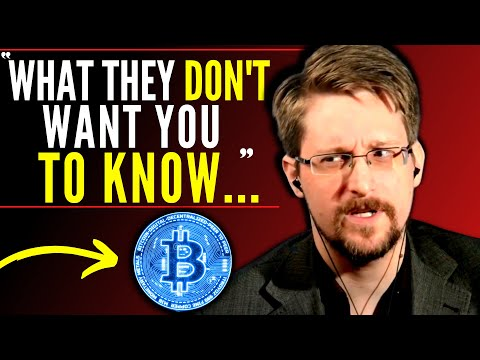 """""""FINAL WARNING, You NEED To HEAR THIS…"""" Edward Snowden Bitcoin U0026 Cryptocurrency Interview (2021)"""