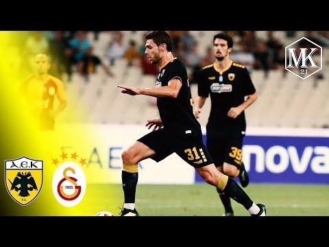 Lucas Boye ● AEK Athens vs Galatasaray ● 31.7.18
