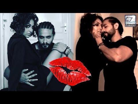TV Actor Ashish Sharma's LIP LOCK With Wife Archana Taide ...