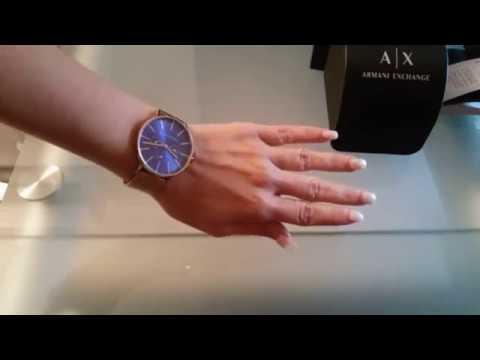 Armani Exchange Ladies Watch AX 5554 & On Hand