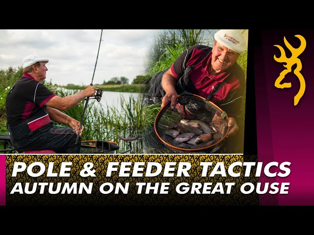 Bob Nudd : Autumn Pole & Feeder Tactics on the River Great Ouse