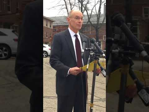 Needham Superintendent addresses media following the deaths of two local teenage girls