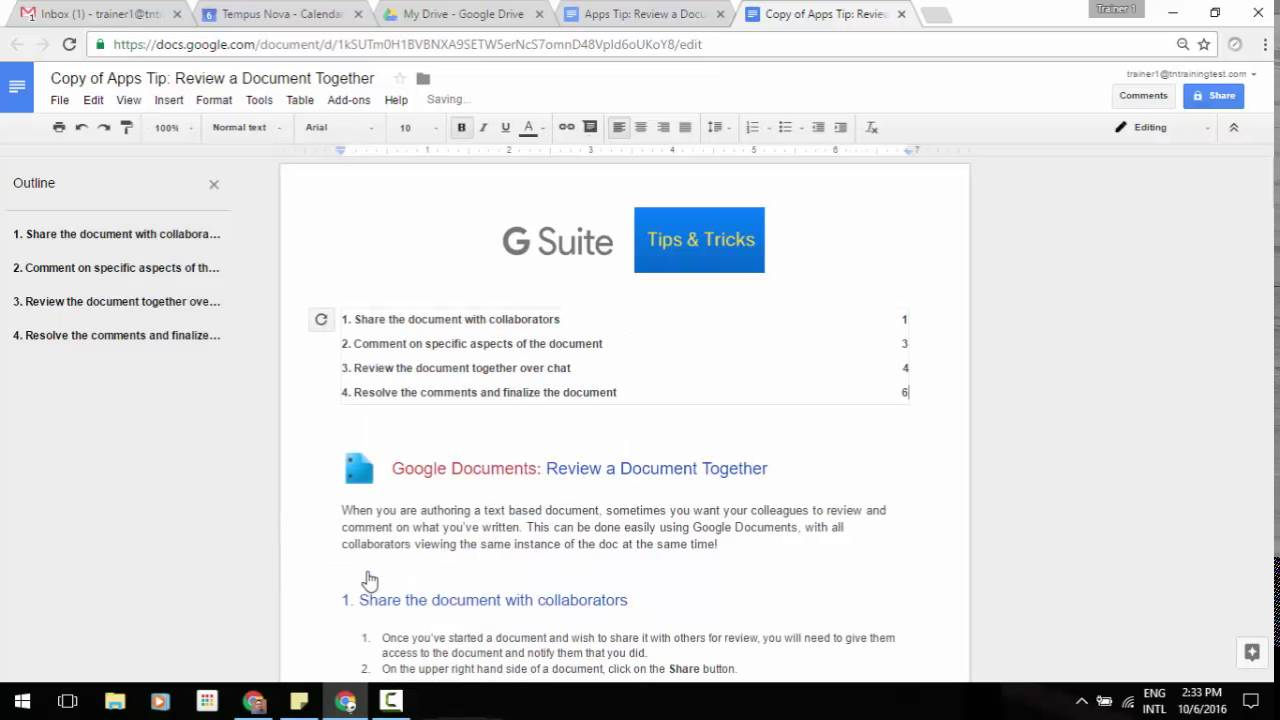 Page Numbers Now In Table Of Contents In Google Docs Youtube