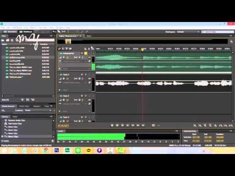 [LESSON] สอนมิกซ์เพลงเบื้องต้นด้วยโปรแกรม Adobe Audition EP.1 by PCMhee myStudioz