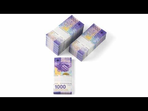 Switzerland Unveils The New 1,000-Franc