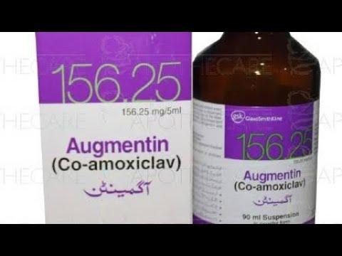 Augmentin Syrup Augmentin GSK Pharma Uses In Urdu I Hindi