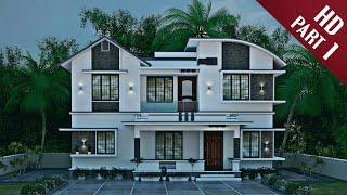 3d Exterior Designing Malayalam Part-1 | 2019 | Kerala Style Home