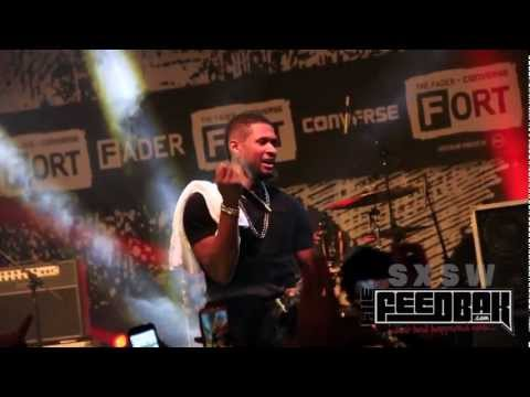 TheFeedBak - Usher does Encore @ Fader Fort