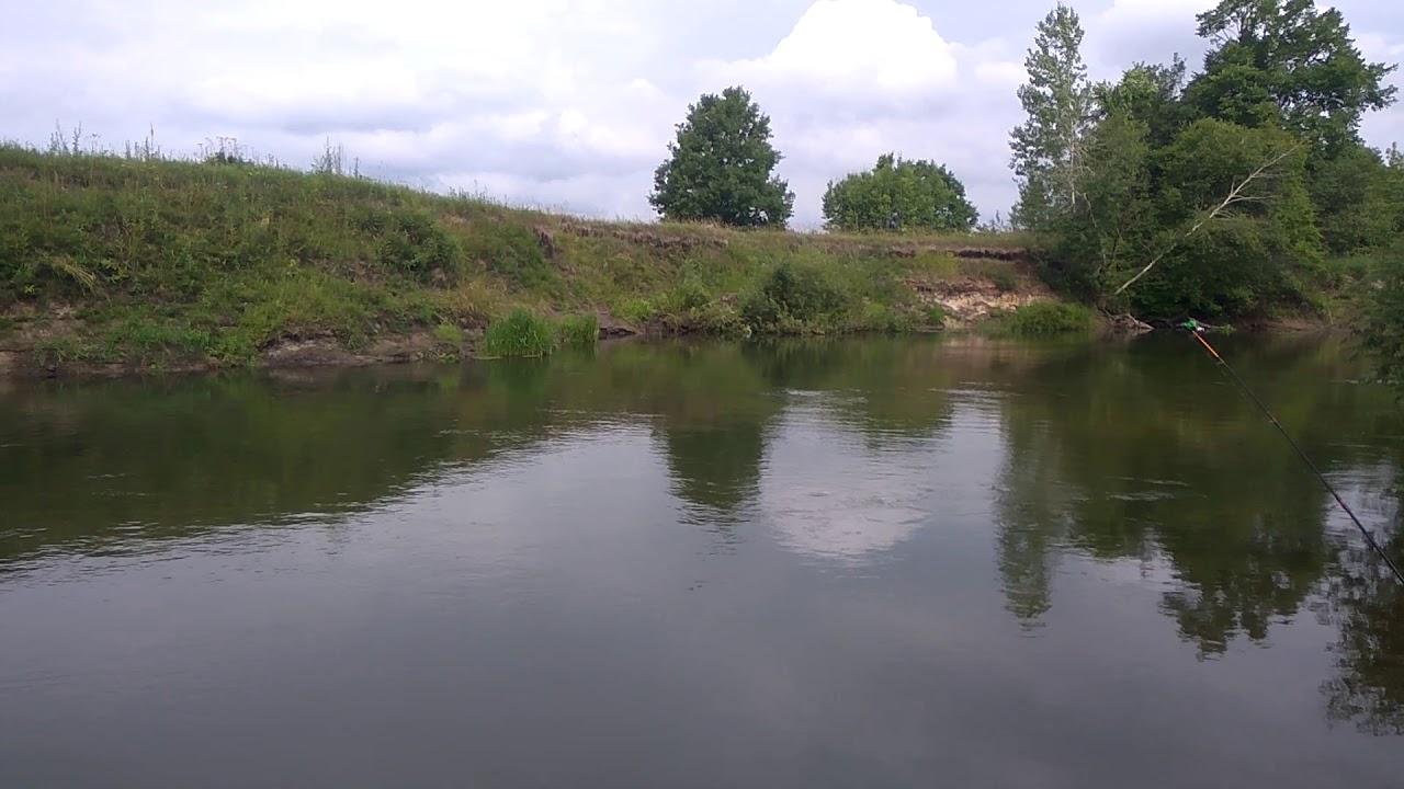 Рыбалка на реке Тёша