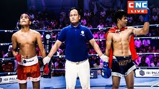 ថា សារុន Vs (ឡាវ) ចៅសងមឿង, 13/October/2018, ISI Steel Boxing   Khmer Boxing Highlights