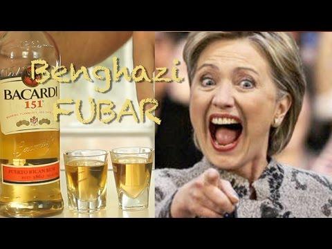 How To Make  The Hillary Clinton Benghazi FUBAR shot-Drinks Made Easy