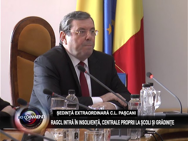 ȘEDINȚĂ EXTRAORDINARA C.L. PAȘCANI - 18 MARTIE 2018