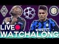 Borussia Monchengladbach vs Inter Milan (Champions League) - Rabona TV Watchalong