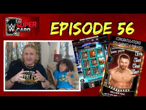 WWE SuperCard #56 - WrestleMania Fusion Reveal and Sami Zayn Ring Domination