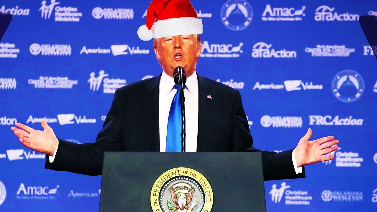 Trump Declares War On \'The War On Christmas\' - YouTube