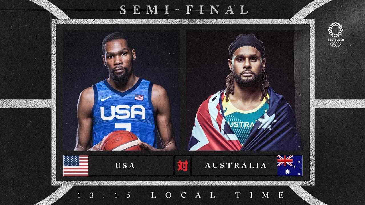 USA v Australia - Watch along party | #Tokyo2020 ⚡ #Basketball