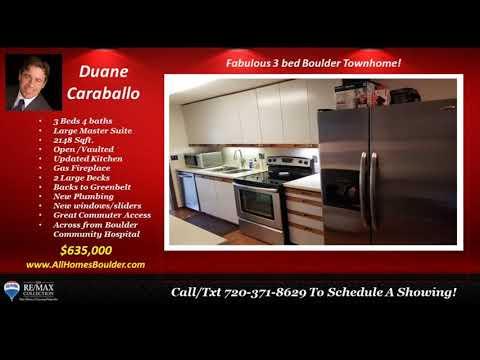 3 bed 2 bath Boulder homes for sale near CU