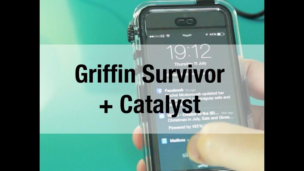 huge discount 1c419 bacca Griffin Survivor + Catalyst - Waterproof Case for iPhone 5