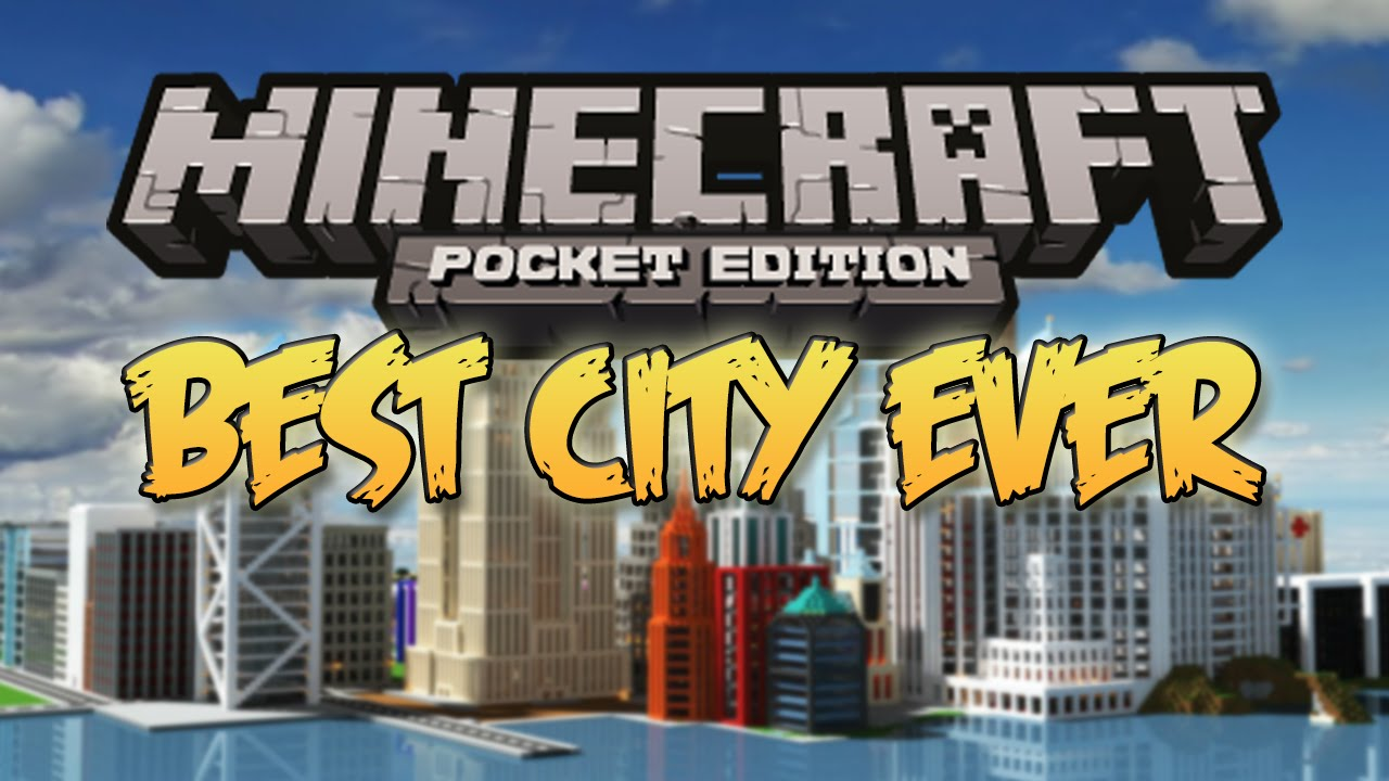 The Most Amazing City Map Minecraft Pocket Edition Coolest - Coole maps fur minecraft pe