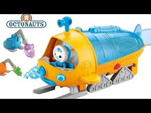 Polar Rescue Mission!!! Octonauts Gup S Polar Exploration Transforming Vehicle, Sleds Shut