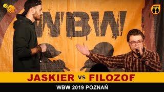 Jaskier  Filozof  WBW 2019 Poznań (1/8) Freestyle Battle
