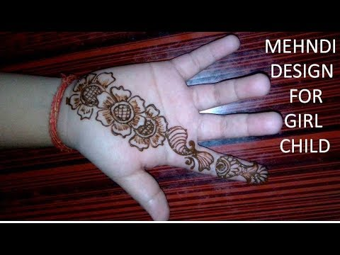 Very Easy Simple Mehndi Henna Designs For Hands For Kids Mehndi