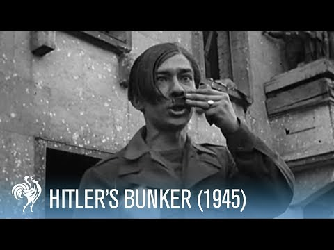 Hitler's Bunker Revealed by the British (1945)   War Archives