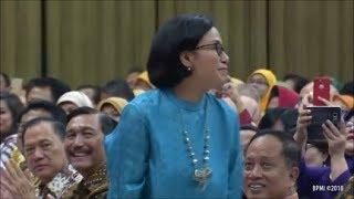Semua Ngakak, Pak Jokowi Kenalkan Menteri Yang Lulusan Universitas Indonesia