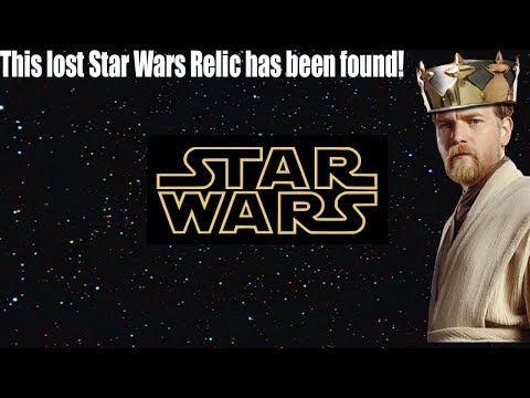 The Holy Grail of Star Wars has been Found