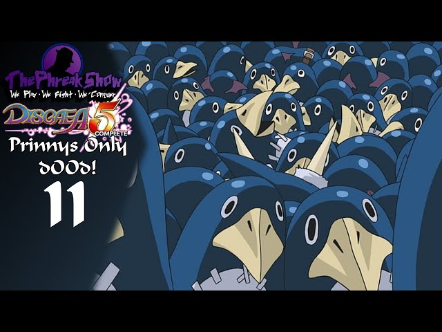 Let's Play Disgaea 5 Complete - Prinnys Only d00d! - Part 11 - Mon-Toss Scares Me!