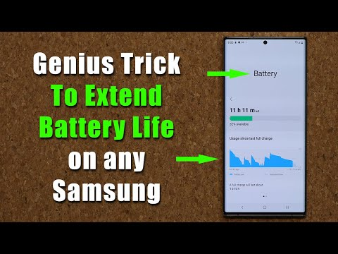 Genius Trick To Extend The Battery Life of ANY Samsung Galaxy Phone (Note 20, S20, A71, A51, etc)