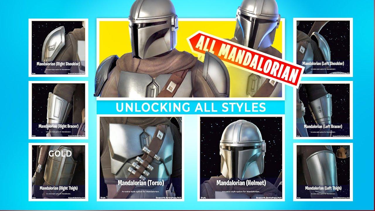 Download UNLOCKING Every Mandalorian Beskar Armor + Completing All Challenge
