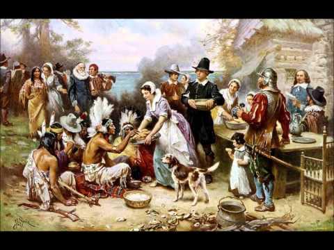Pilgrim Thanksgiving - Food For the 1st Settlers