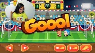 ONLINE KAFA TOPU (Adının hakkını veren oyun) - Eğlenceli Oyun Videosu - Funny Games