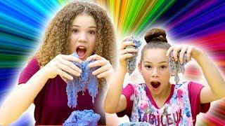 Kinetic Sand Challenge! (Haschak Sisters)
