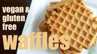 Waffles (vegan And Gluten-free) Something Vegan