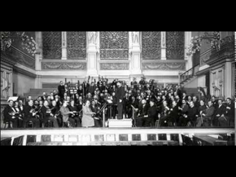 Arthur Nikisch conducting Beethoven Symphony No. 5, 1st Mvt Allegro Con Brio