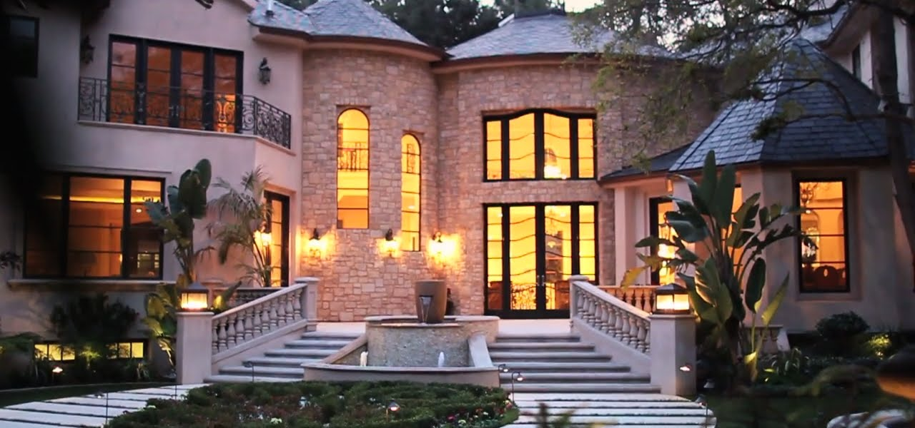 Bel Air Luxury Homes For Sale: 21 Million: Video Produced By Interior  Pixels   YouTube
