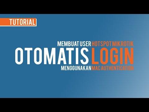 MikroTik Hotspot User Auto Login by MAC Address