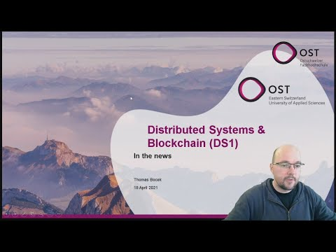 Distributed Systems & Blockchain – In the News