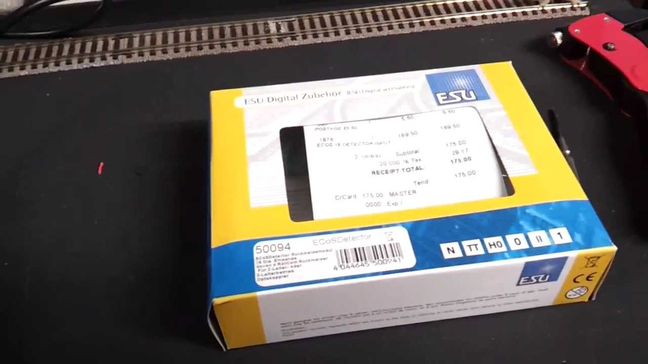 Esu Ecos 50094 Detector Basic Set Up Youtube Wiring Block Detectors